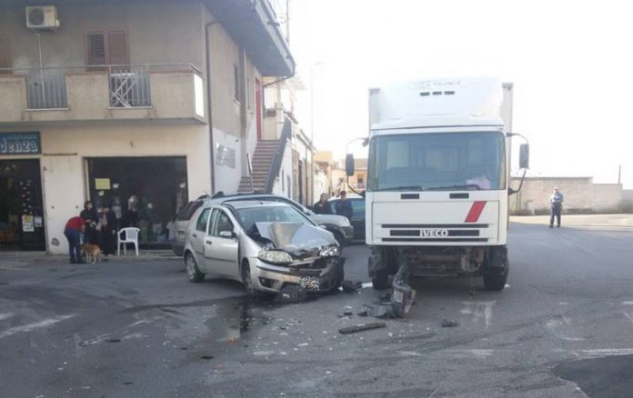 L'incidente avvenuto a Vibo Marina
