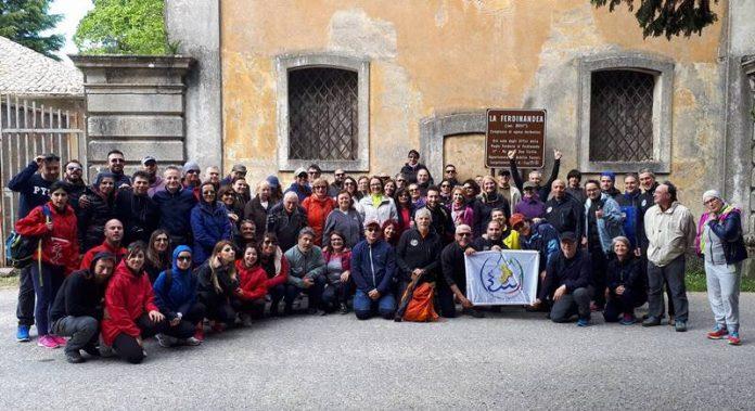 Foto di gruppo alla Ferdinandea