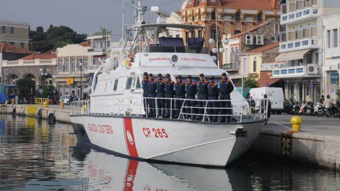 La motovedetta Cp 265