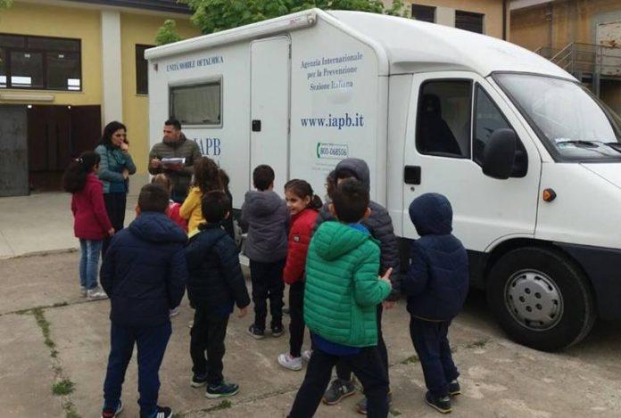 """La campagna """"Occhio ai bambini"""" nelle scuole del Vibonese"""