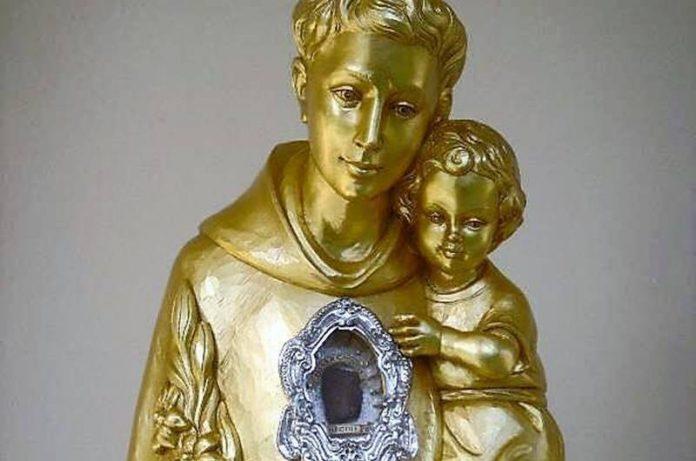 Il reliquiario di Sant'Antonio di Padova