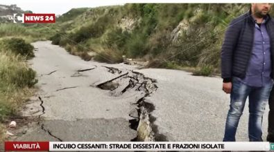 Strade provinciali groviera a Cessaniti, l'Udicon presenta un esposto