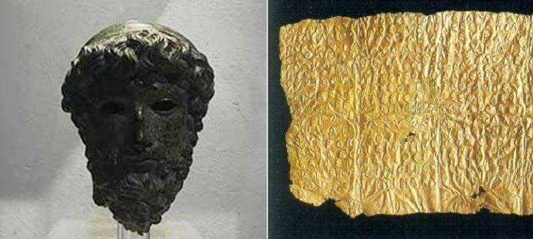 """Arte, a Vibo arriva la """"Testa del Sele"""". E la Laminetta aurea vola a Paestum"""
