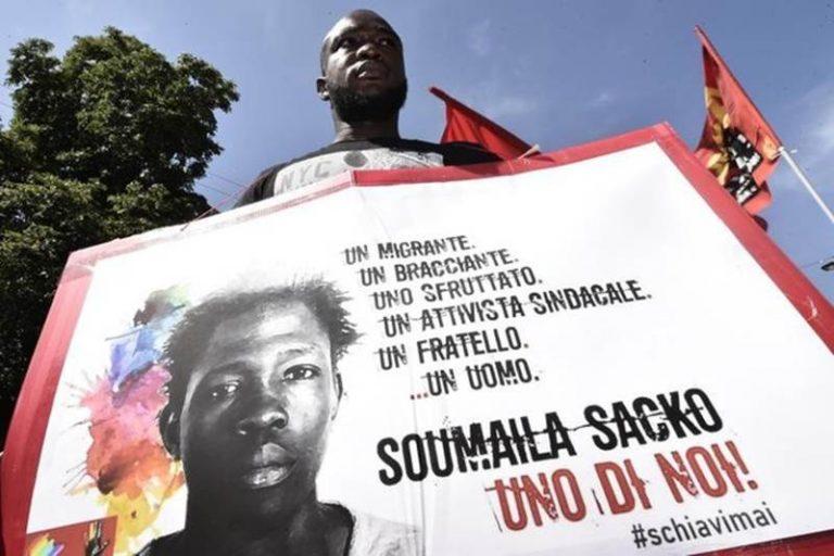 In memoria di Soumaila Sacko, attivista per i diritti assassinato per una lamiera