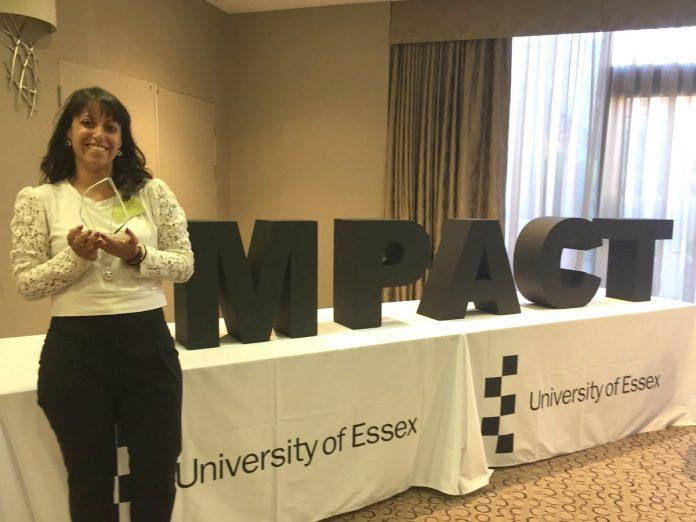 Anna Sergi, vincitrice del Research Impact Award 2018
