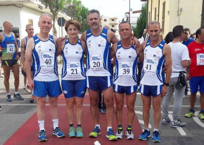 La squadra dell'Atletica San Costantino