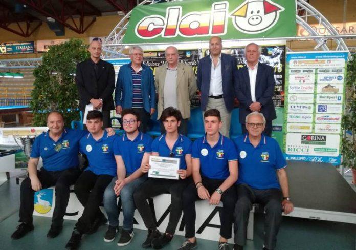 """La squadra del Liceo """"G. Berto"""""""