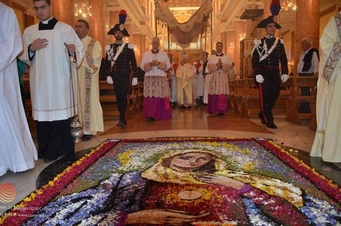 Le celebrazioni del Corpus domini a Mileto