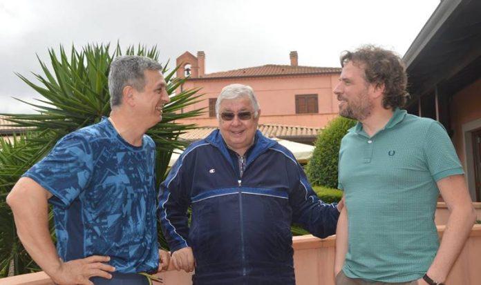 Da sinistra Agricola, Callipo e De Nicolo