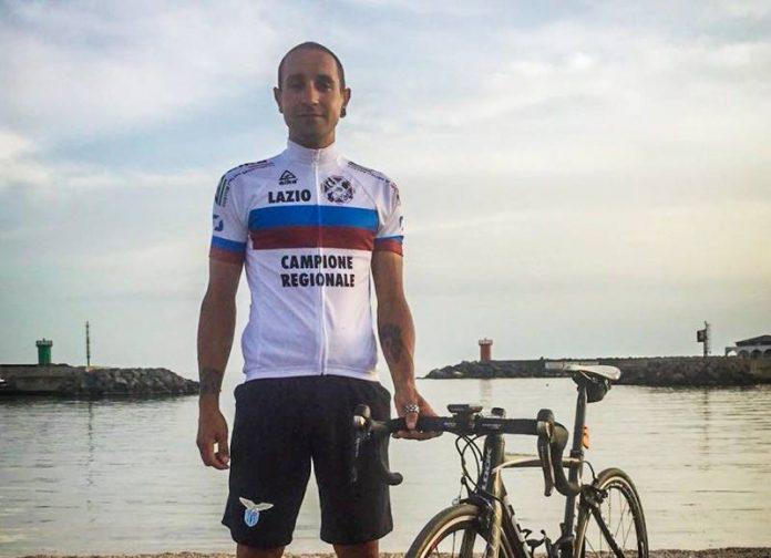 Eugenio Varone, campione regionale di ciclismo nel Lazio
