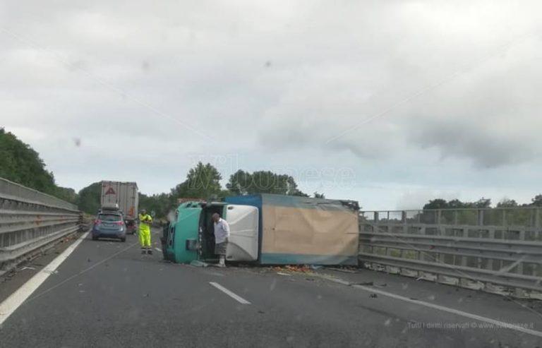 Incidente in autostrada, morta una donna di Francavilla Angitola