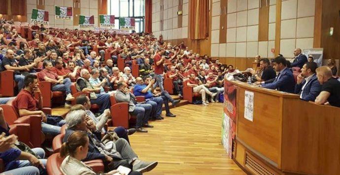 Vigili del fuoco precari, a Reggio anche una delegazione vibonese