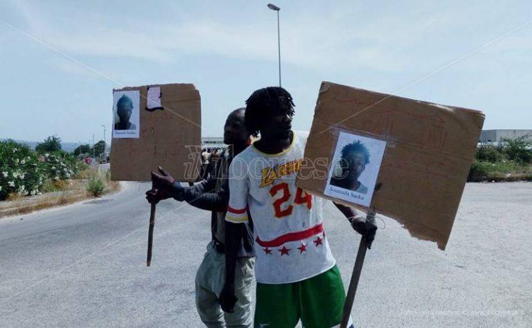 Omicidio di Soumaila Sacko, forti tensioni alla tendopoli di San Ferdinando (VIDEO)
