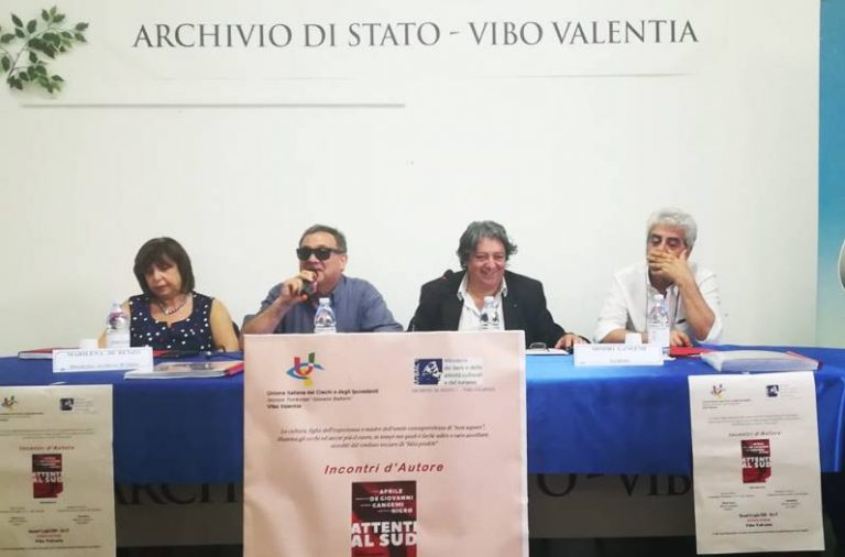 """""""Incontri d'autore"""", Mimmo Gangemi torna a Vibo con """"Attenti al Sud"""""""