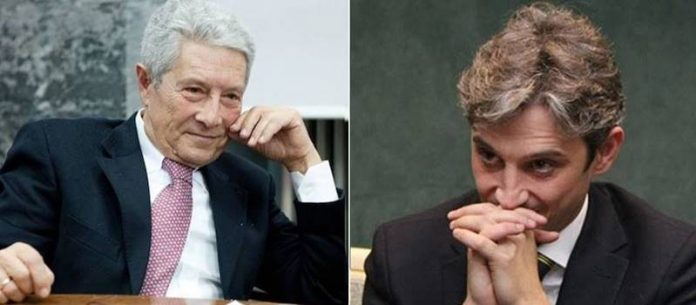 Il sindaco Costa e il senatore Mangialavori