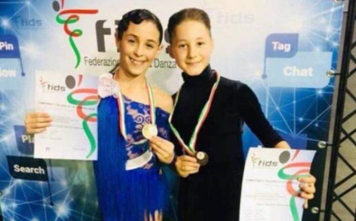 I baby campioni Antonio e Ilaria
