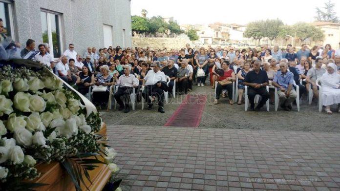 I funerali di Matteo Vinci a Limbadi