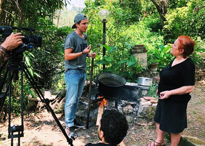 Il co-founder di Wrad Living, Matteo Ward, a Monterosso