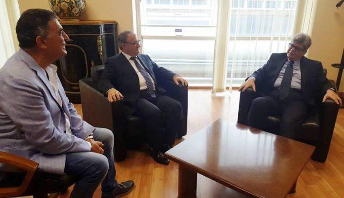 L'incontro tra Gualtieri e Lo Bianco in Provincia