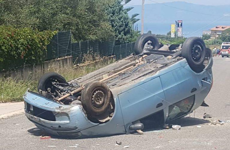 Grave incidente stradale a Cessaniti, interviene l'elisoccorso