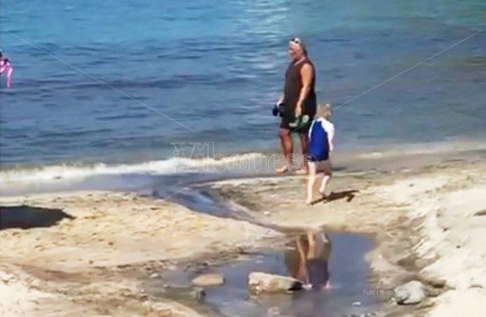 Disagi sulla spiaggia di Santa Maria