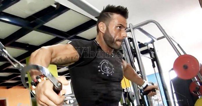 Lorenzo Pizzurro in allenamento