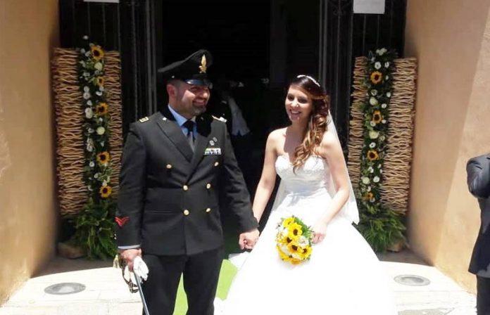 Giusy e Antonio sposi