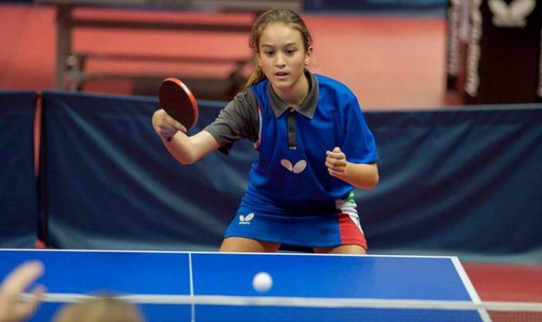 Tennistavolo, la vibonese Miriam Carnovale vola in Romania per i campionati europei