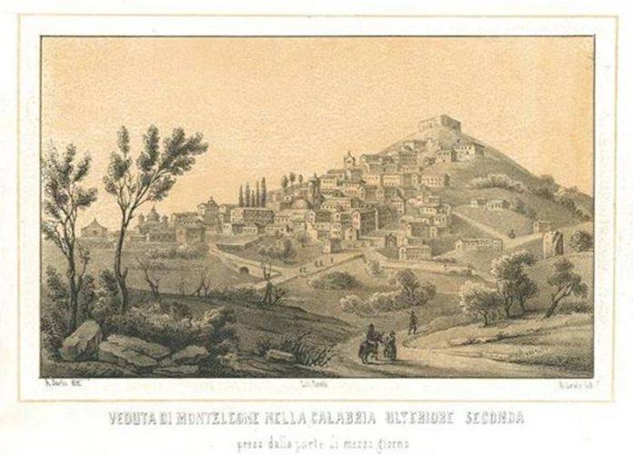 Una raffigurazione storica di Monteleone