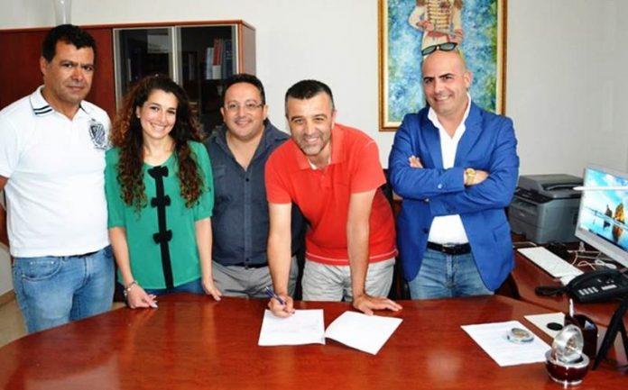 Firma del protocollo al Comune di Zambrone