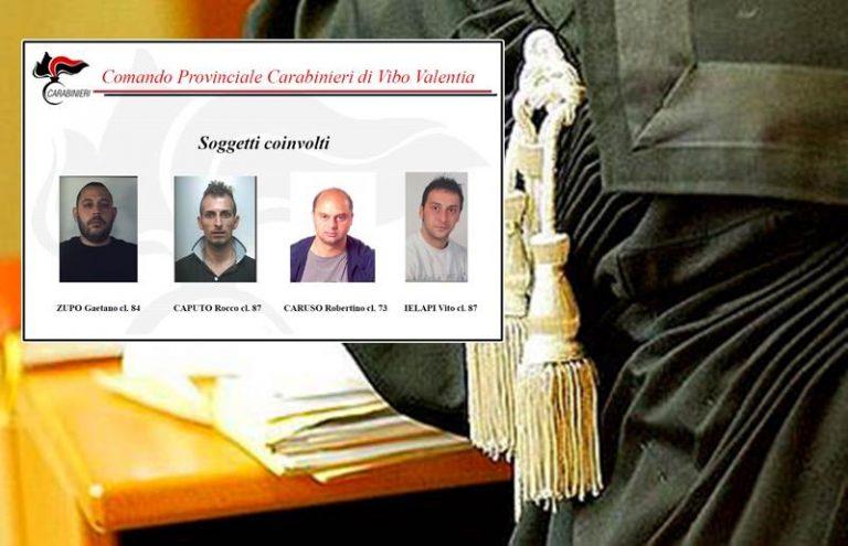 """Droga nel Vibonese: operazione """"Genio"""", conclusi gli interrogatori degli arrestati"""
