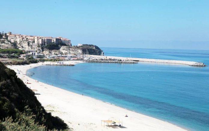 """Il punto """"Le grazie"""" tra Parghelia e Tropea"""