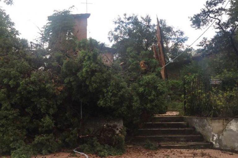 Maltempo: danni anche a Mileto e sulla provinciale per Dinami