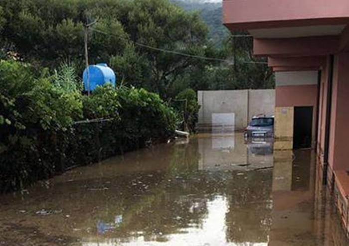 Maltempo, nuovi allagamenti a Nicotera e Joppolo: famiglie bloccate in casa (FOTO/VIDEO)