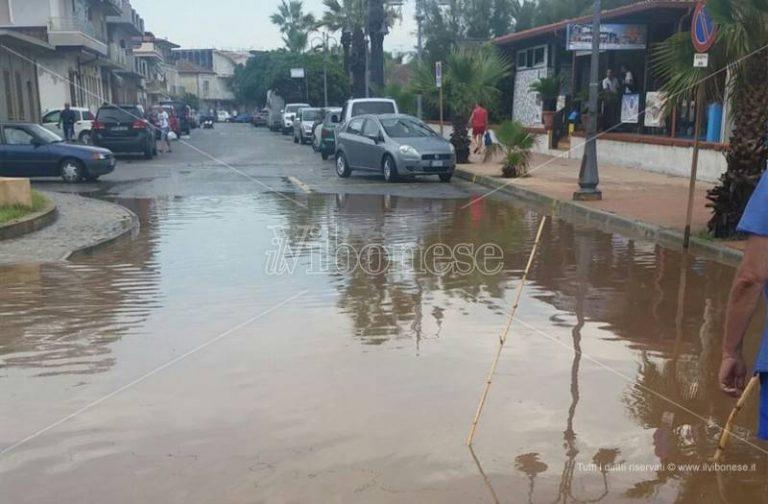 Intense precipitazioni nel Vibonese, allagamenti e disagi in diversi centri