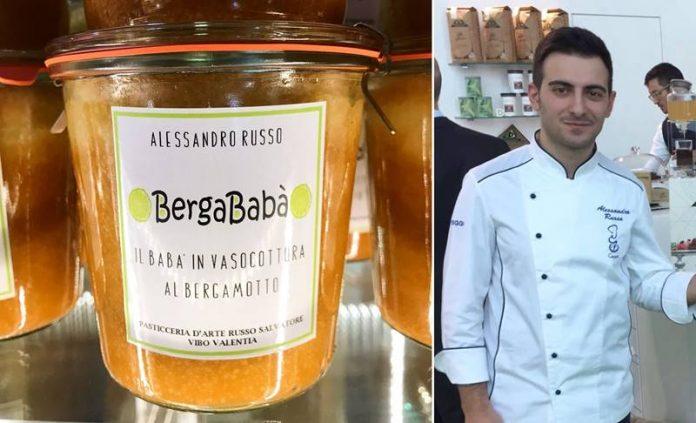 Alessandro Russo e il suo Bergababà