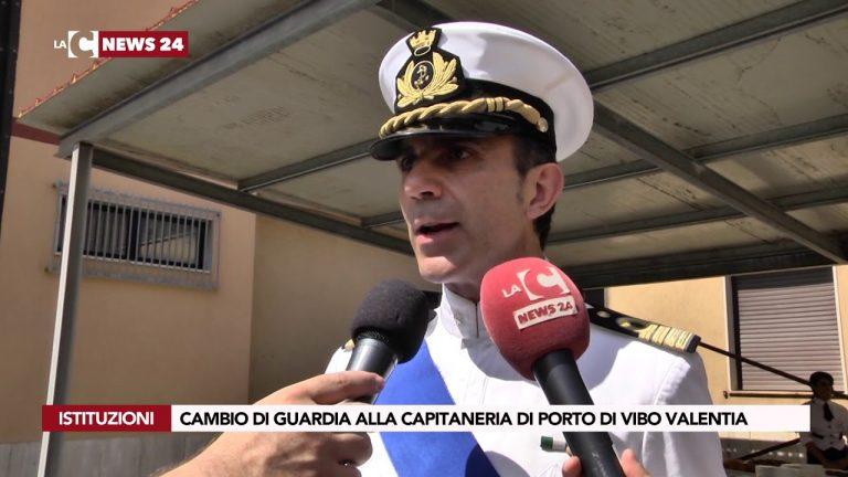 Capitaneria di Porto: il saluto di Rocco Pepe e l'insediamento di Giuseppe Spera (VIDEO)