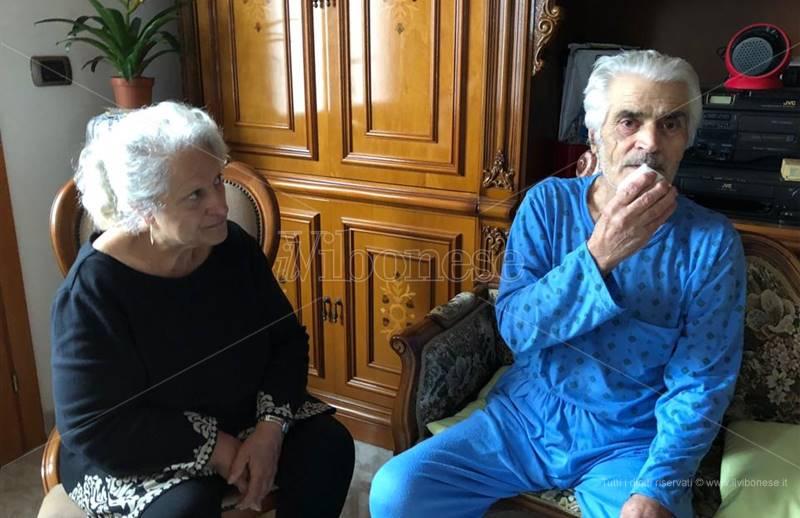 I coniugi Sara Scarpulla e Francesco Vinci