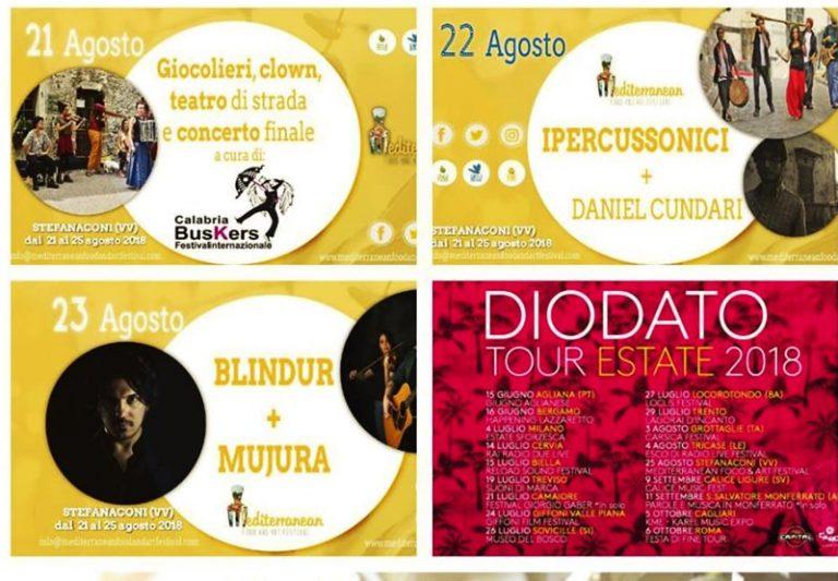 """Stefanaconi capitale della gastronomia con """"Mediterranean food and art festival"""""""