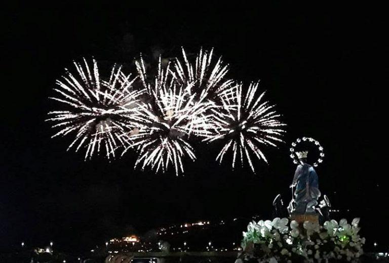 Vibo Marina celebra la sua Patrona, in migliaia al porto per la processione a mare