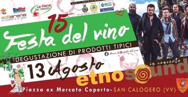 Estate vibonese | A San Calogero tutto pronto per la Festa del vino