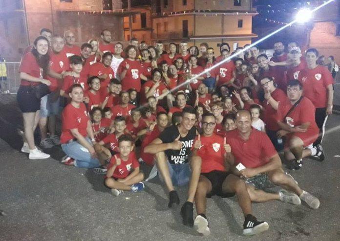 La squadra del quartiere Fontana Vecchia
