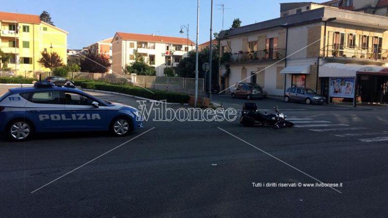 Incidente stradale su viale Affaccio a Vibo, un ferito