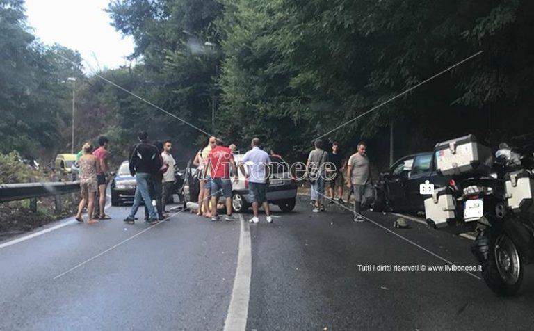 Incidente stradale sulla Statale 18 fra Vibo e il bivio per San Costantino