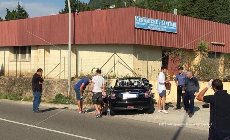 Incidente stradale a Pizzo, ferita una ragazza (FOTO)