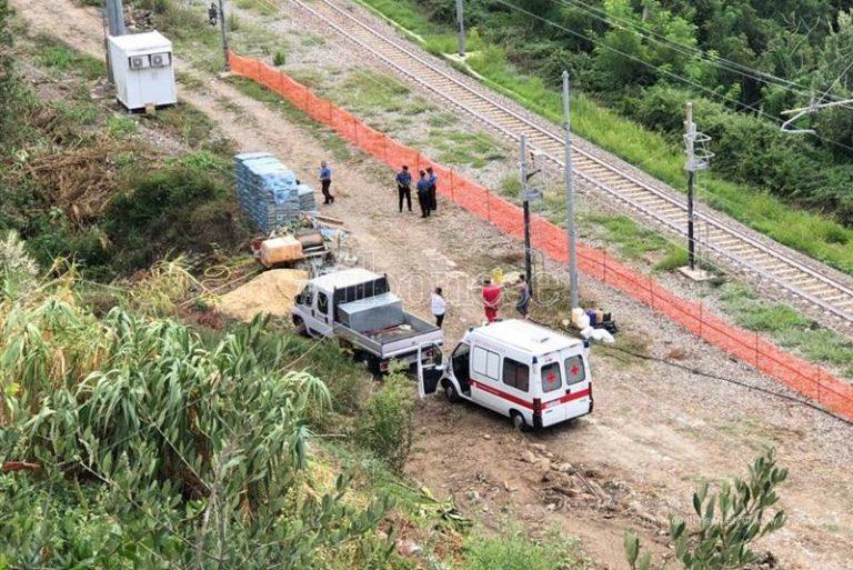 Incidente sul lavoro alla stazione di Joppolo, un morto (VIDEO)