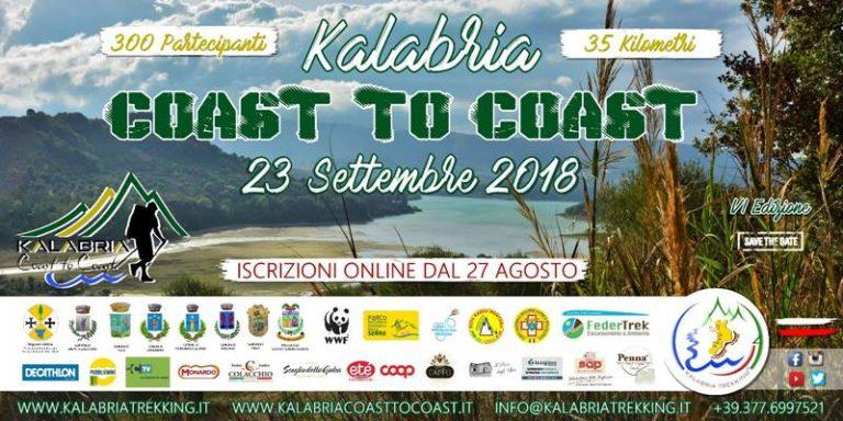 "Trekking, torna ""Kalabria coast to coast"": al via le iscrizioni on-line"