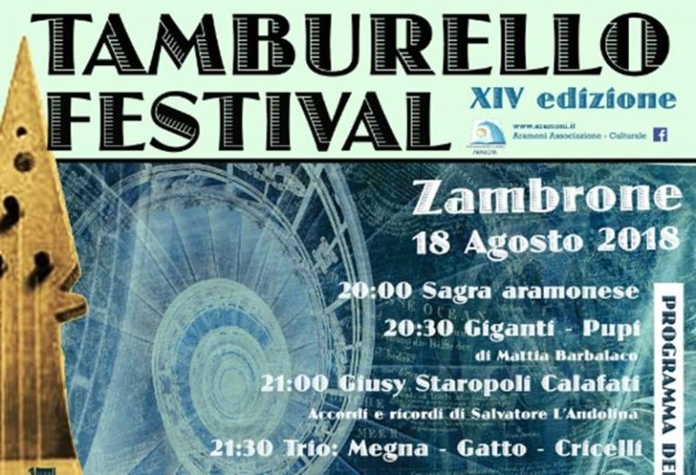 A Zambrone cresce l'attesa per il Tamburello festival