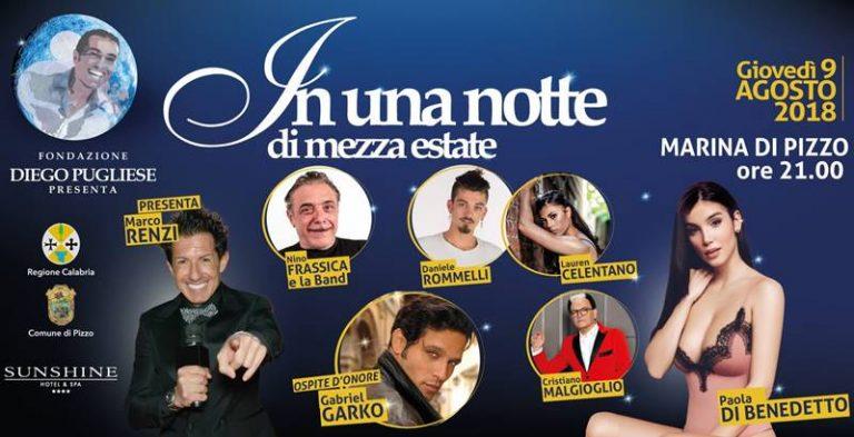"Estate vibonese | A Pizzo la quarta edizione di ""In una notte di mezza estate"""