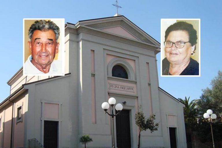 Paravati dà l'addio a Saverio Milidoni e Concetta Furci